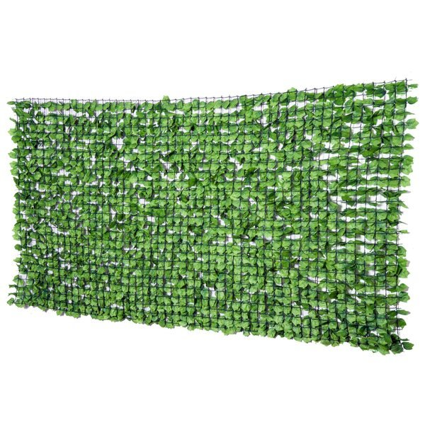 Outsunny Künstliche Sichtschutzhecke grün
