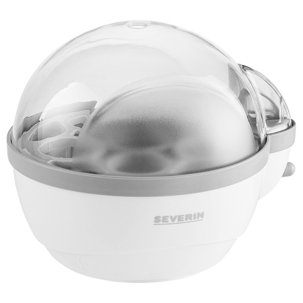 Severin Eierkocher 3051 Weiss/Grau 400Watt weiß/grau