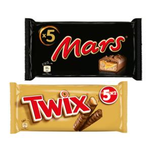 Snickers / Mars / Twix