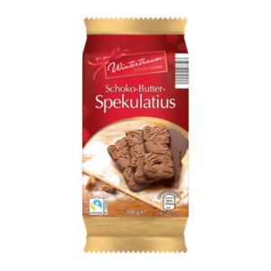 WINTERTRAUM     Schoko-Butter-Spekulatius