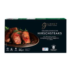 GOURMET     Hirschsteaks