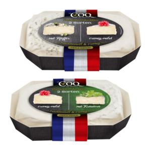 LE COQ DE FRANCE     Le Double Weichkäse