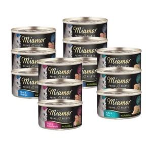 Miamor Feine Filets naturell Mixpaket 12x80g Mixpaket I