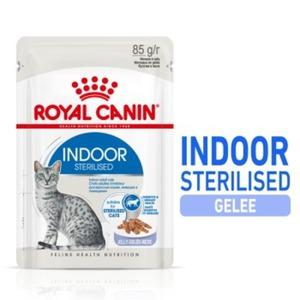 Royal Canin Indoor Sterilised 12x85g in Gelee