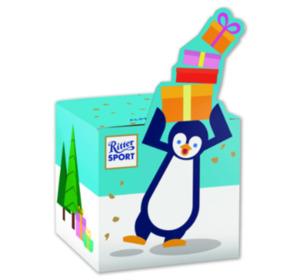 RITTER SPORT Pinguin- oder Rentierwürfel