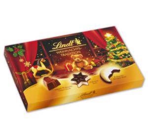 LINDT Weihnachtstradition Pralinés