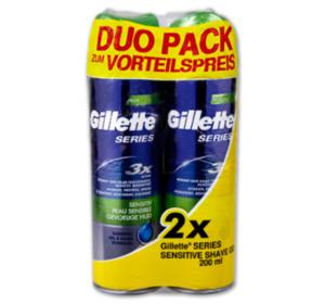 GILLETTE Series Rasiergel Doppelpack