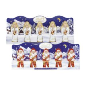 Lindt Minis Weihnachts-, Schneemänner oder Engel