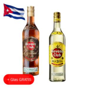 Havana Club Añejo 3 Años, Años Especial oder Verde
