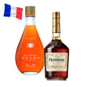 Hennessy V.S Cognac oder Baron Otard VSOP Cognac