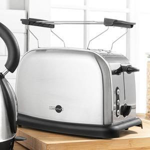 Cook o'Fino Retro-Edelstahl-Toaster