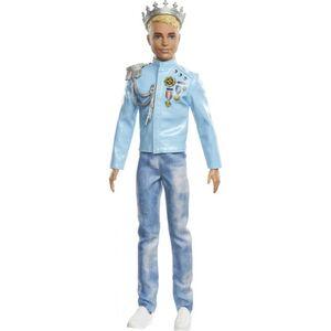 Barbie - Prinzessinnen Abenteuer - Prinz Ken - Modepuppe
