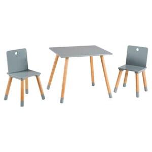 Roba - Sitzgruppe Holz weiß, 3-tlg.