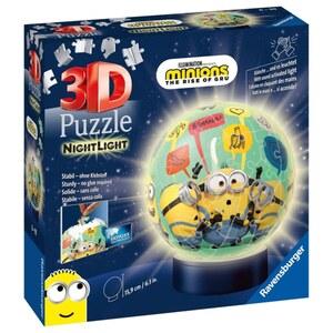 Minions 2 Nachtlicht Puzzleball 72-teilig