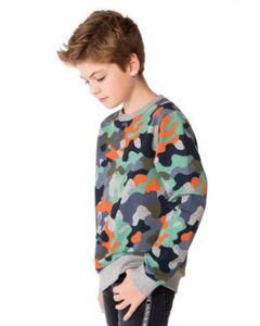 Sweatshirt  von name it, Organic Cotton mehrfarbig Gr. 116 Jungen Kinder