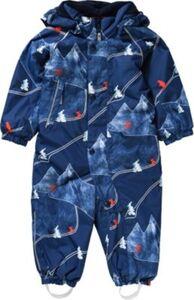 Baby Schneeanzug LUOSTO  blue denim Gr. 74 Jungen Baby