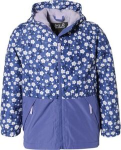 Winterjacke SNOWY DAYS PRINT JACKET KIDS blau Gr. 164 Mädchen Kinder