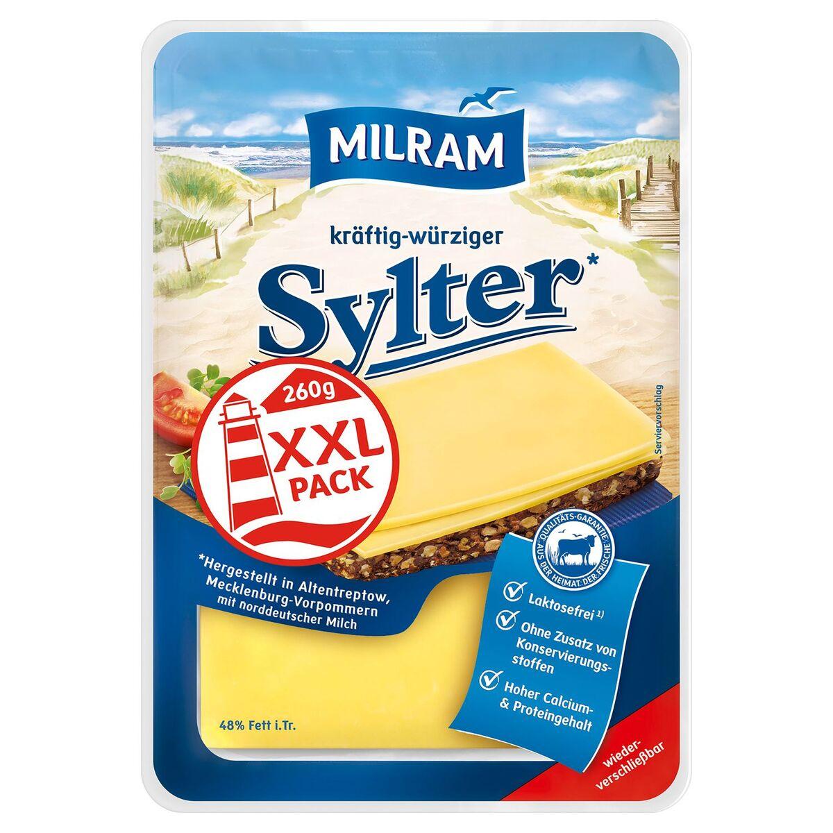 Bild 1 von MILRAM Käsescheiben, XXL-Packung 260 g
