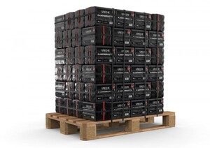 Braunkohle Kaminbriketts 10 kg ,  Palettenabnahme, 96 Pack