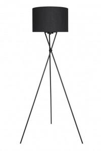 Di-Ka Stehleuchte Textil Dreibein ,  schwarz