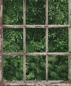 Erismann Vliestapete Instawalls ,  Muster / Motiv grün, 10,05 x 0,53 m