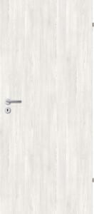 Borne Türblatt Dekor Pinie weiß ,  86 cm x 198,5 cm, DIN rechts, Wabe