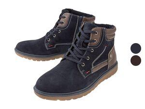 Footflexx Herren Schnürstiefel, aus umweltgerechte Lederherstellung