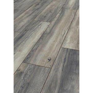 Venda Laminatboden grau per m² , Venda 3572 Harbour OAK Grey , 24.4x0.8x138 cm , Nachbildung , für Fußbodenheizung geeignet , 008068000703