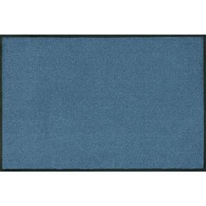 Esposa Fußmatte 40/60 cm uni blau , 016236 , Textil , 40x60 cm , rutschfest, für Fußbodenheizung geeignet , 004336012951