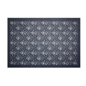 Esposa Fußmatte 80/120 cm ranken schwarz , Cleandoor , Textil , 80x120 cm , 001250016054