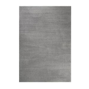Esprit Hochflorteppich 70/140 cm getuftet grau , Loft Esp-4223 , Textil , Uni , 70x140 cm , für Fußbodenheizung geeignet, in verschiedenen Größen erhältlich, für Hausstauballergiker geeignet, p
