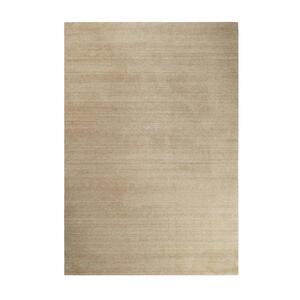 Esprit Webteppich 70/140 cm hellbraun , Esp-4223 , Textil , Uni , 70x140 cm , für Fußbodenheizung geeignet, in verschiedenen Größen erhältlich, für Hausstauballergiker geeignet, pflegeleicht, s