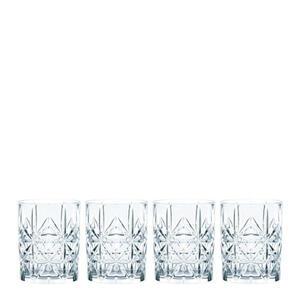 Nachtmann Whisky-gläserset 4-teilig , 0095906-0 , Glas , 345 ml , 10.2 cm , klar , 0045460261