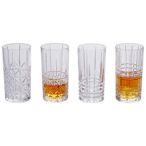 Nachtmann Longdrinkglas 4-teilig , 0097784-0 , Klar , Glas , 445 ml , 15.1 cm , klar , 004546026101