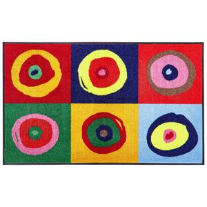 Esposa Fußmatte 75/120 cm multicolor , Sergej , Textil , 75x120 cm , Velours , rutschfest, für Fußbodenheizung geeignet , 004336001653