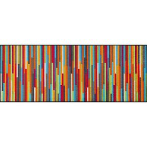 Esposa Fußmatte 75/190 cm graphik multicolor , Mikado Stripes , Textil , 75x190 cm , rutschfest, für Fußbodenheizung geeignet , 004336014998