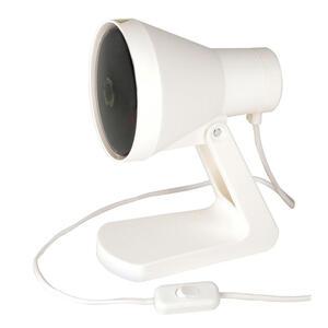 XXXLutz Infrarotlampe , Infrarotlampe *mb* , Weiß , Kunststoff , 13x24x17 cm , 006619009301