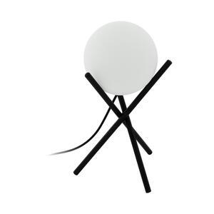 Eglo Leuchten Gmbh Tischleuchte , 97333* Castellato , Schwarz, Weiß , Metall , 33 cm , matt,matt,matt , 003348155401
