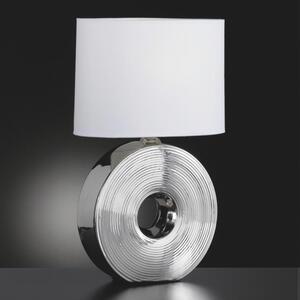 Novel Tischleuchte , 5620020 EYE *sbn* , Weiß , Keramik , Uni , 54 cm , Schnurschalter , 003151053208