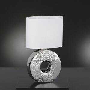 Novel Tischleuchte , 5619920 EYE *sbn* , Weiß , Keramik , 38 cm , Schnurschalter , 003151053206