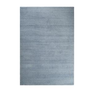 Esprit Hochflorteppich 70/140 cm getuftet blau , Loft , Textil , Uni , 70x140 cm , für Fußbodenheizung geeignet, in verschiedenen Größen erhältlich, für Hausstauballergiker geeignet, pflegeleic