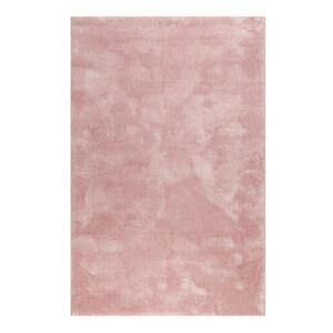 Esprit Webteppich 120/170 cm rosa , Relaxx Esp-4150 , Textil , Uni , 120x170 cm , für Fußbodenheizung geeignet, in verschiedenen Größen erhältlich, lichtunempfindlich, pflegeleicht, strapazierf