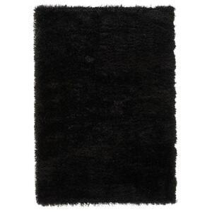 Esprit Hochflorteppich 160/225 cm gewebt schwarz , Shiny Touch , Textil , Uni , 160x225 cm , für Fußbodenheizung geeignet, in verschiedenen Größen erhältlich, UV-beständig, lichtunempfindlich,