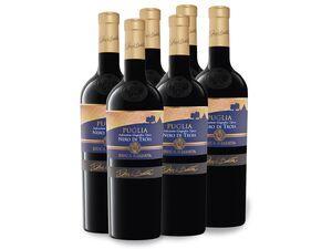 6 x 0,75-l-Flasche Weinpaket Duca di Sasseta Nero di Troia, Rotwein