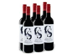 6 x 0,75-l-Flasche Weinpaket Günzer Tamás Cabernet Sauvignon DHC trocken, Rotwein