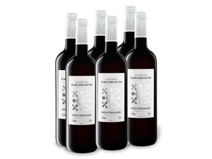 6 x 0,75-l-Flasche Weinpaket Domaine Icar des Vautes Rhône Méditerranée IGP trocken, Rotwein