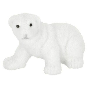 Dekofigur Eisbär laufend