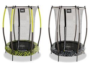EXIT Trampolin »Tiggy Junior«, mit Sicherheitsnetz, für In- & Outdoor, 140 cm Durchmesser