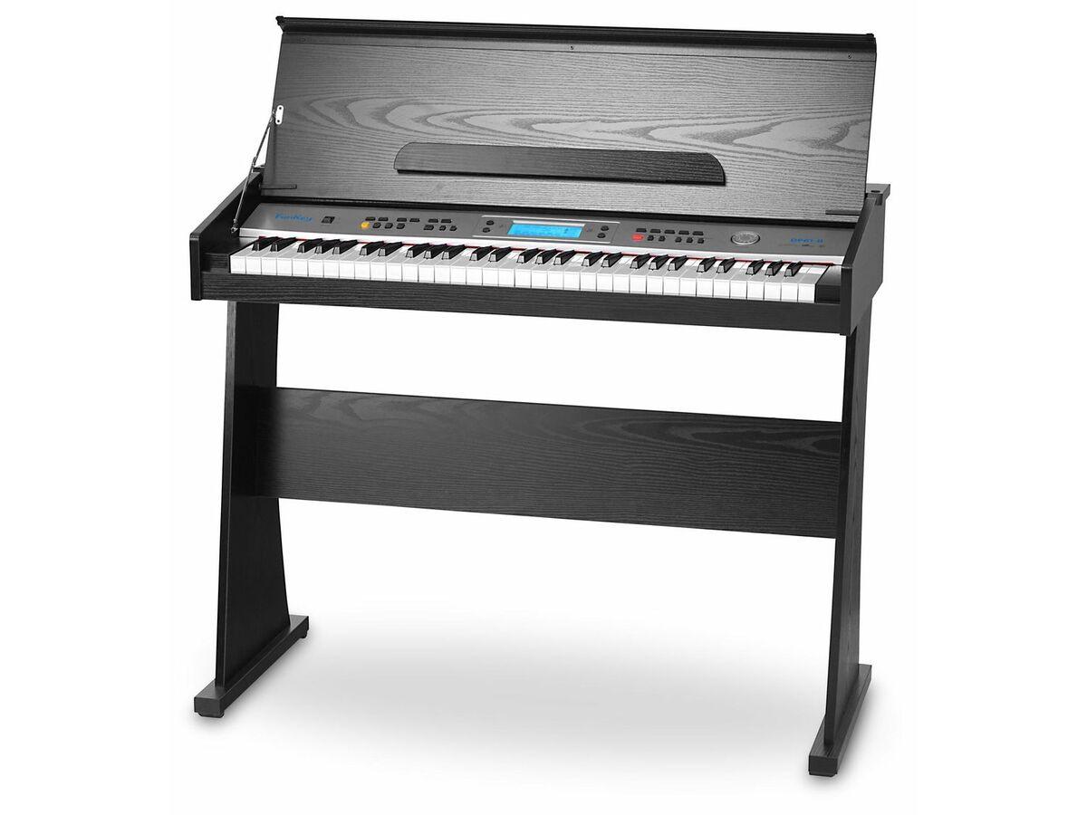 Bild 1 von FunKey DP-61 II Digitalpiano mit Ständer Schwarz