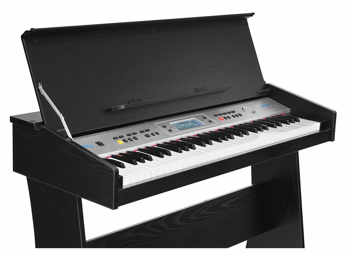 Bild 3 von FunKey DP-61 II Digitalpiano mit Ständer Schwarz